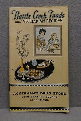 Battle Creek Food Co Vegetarian Recipes Booklet 1900
