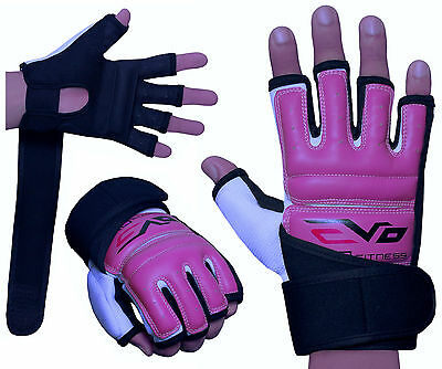 EVO Ladies body combat GEL Gloves MMA Boxing Punch Bag Martial Arts Karate Mitt