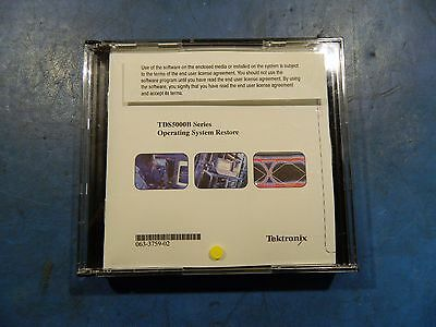 Tektronix TDS5000B Series Operating System Restore 063-3759-02