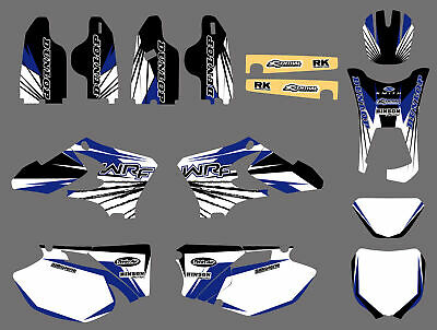 Team Graphics Backgrounds Decals For Yamaha Wr250F Wr450F Wrf 250 450 2005 2006