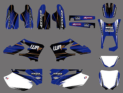 Team Graphics Backgrounds Decals For Yamaha Wr250F Wr450F Wrf 250 450 2005 -2006