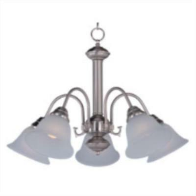 Maxim Lighting 2698FTSN Chandelier  from the malaga collection