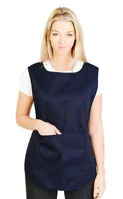 Tabard Tabbard Apron With Pockets Work Wear Overall Catering Laundry Cleaning