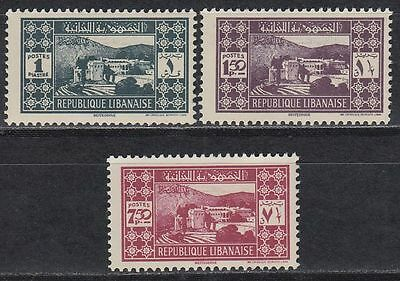 Libanon Lebanon 1939 ** Mi.250/52 Freimarken Definitives