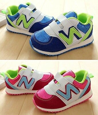 Soft Sole Baby Toddlers Boys Girls Prewalkers Birthday Cute Shoes Size 0,1,2,3