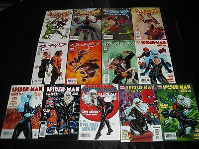 Spider-Man & The Black Cat 1 - 6  Wolverine & The Black Cat 1 2 3 Quality 1 - 4