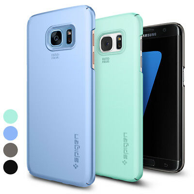 For Galaxy S7 Edge | Spigen® [Thin Fit] Matte Slim Premium Protective Case Cover