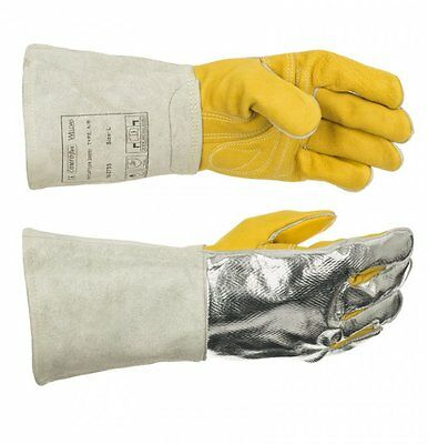 WELDAS STEERSOtuff® Reflective Aluminum Welding Gloves HIGH QUALITY