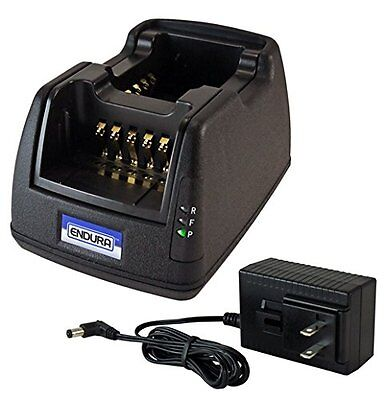 Power Products Dual Unit Rapid Charger Motorola MagOne BPR40 and BearCom BC130