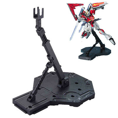 MS 1Pcs Bandai Gundam Hobby Action Base Display Stand (1:100 Scale) Black