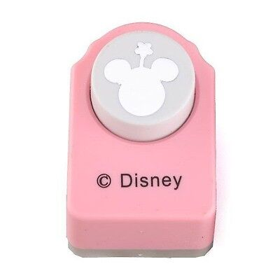 Genuine Disney Paper Punch of the Minnie Mouse Logo - Free UK Shipping
