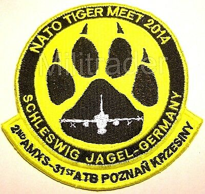 Nato Tiger Meet 2014 (Germany) Patch