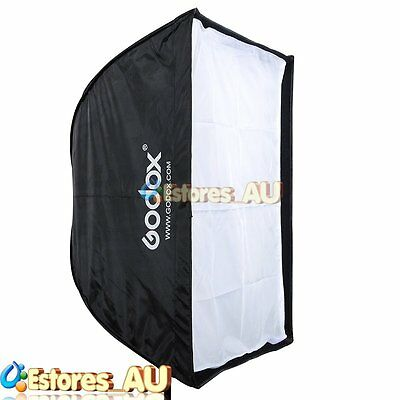 Godox 50*70cm Portable Square Umbrella Softbox Reflector For Flash Speedlite【AU】