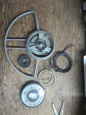 1954 Packard horn button with ring, OEM original