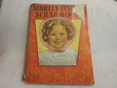 1936 Shirley Temple Scrap Book # 1722 Authorized Edition unused
