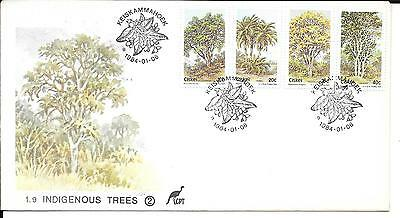 Ciskei 1984 Indigenous Trees Set Stamps on First Day Cover