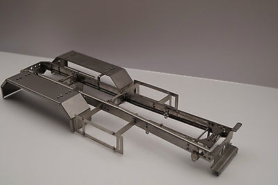 Edelstahl chassis 6x4 LKW 1/14 Tamiya und andere SCALE-PARTS