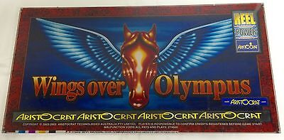 "ARISTOCRAT Belly Plexiglass "" WINGS OVER OLYMPUS """