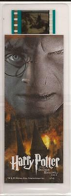 Nerd Block Exclusive Harry Potter Deathly Hallows Part 2 Film Cell Bookmark