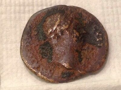 Authentic ancient bronze/copper? Roman Unknown Emperor or Era? coin V1