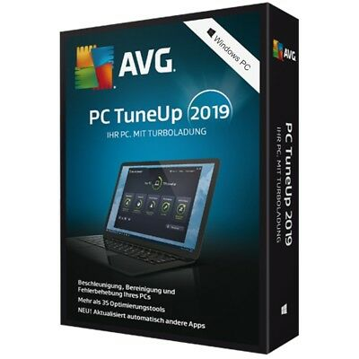 AVG PC TuneUp 2018 * 1 PC * 2 Jahre * Vollversion * Lizenz