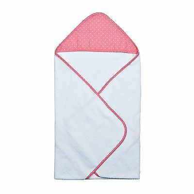 Cocoa Coral Dot Hooded Towel Bouquet