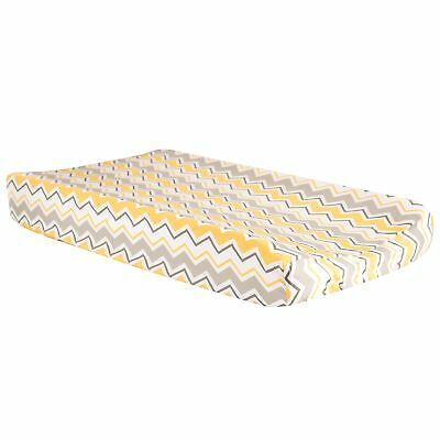 Buttercup Zigzag Chevron Changing Pad Cover