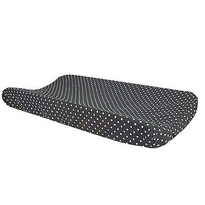 Bedtime Gray Dot Changing Pad Cover
