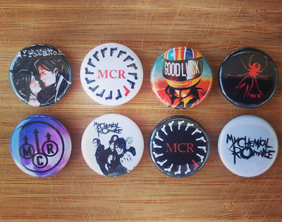"8 1"" My Chemical Romance pinback badges buttons"