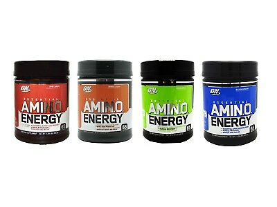 Optimum Nutrition Amino Energy 30 or 65 Servings - All Flavors Available