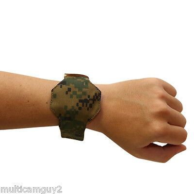 Ops / Ur-Tactical Universal Wrist Watch Cover/rotector In Usmc Woodland Marpat