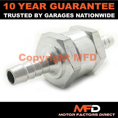 Car Motorbike Bike Fits 99% Vehicles 6Mm One Way Non Return Valve