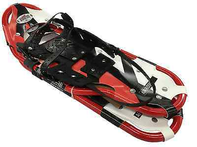 """Redfeather Arrow 36"""" Snowshoes Made in the USA Red Frame Summit Binding"""