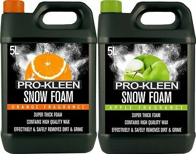 Snow Foam Car Shampoo Wax Vehicle Wash Valet Cleaning Shine Washer Mixed 10L