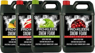 Snow Foam Car Shampoo Wax Vehicle Wash Valet Cleaning Pressure Washer Mixed Pack