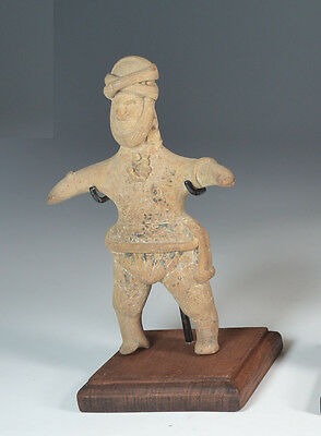 A  Colima Terracotta Figure circa Ca. 100 BC. to 200 AD West Mexico