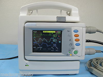 Biolight EMS1 Patient Monitor Module - Demo Unit - Inlcudes A2E Charging Station