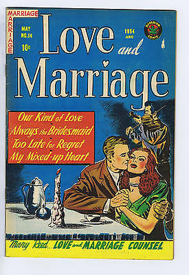 Love and Marriage #14 Superior Pub CANADIAN EDITION 1954