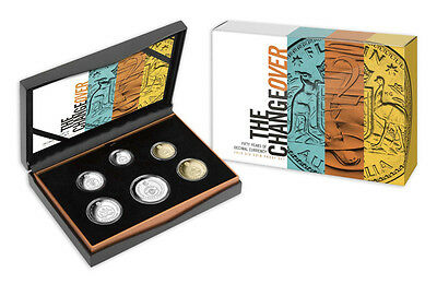 2016 Six Coin Proof Set   THE CHANGEOVER