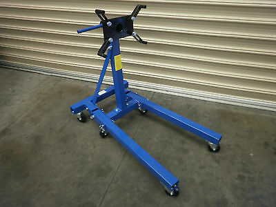 Engine Stand, Folding Legs 6 X  Wheels 360 Degree Rotating 900Kg,  (D5606)