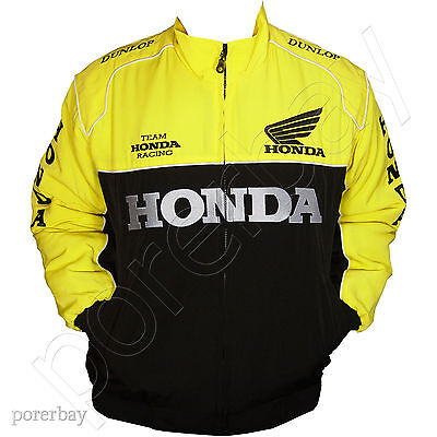 Honda Motorcycle Sport Team Racing Jacket #jkhd04
