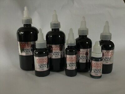 LINER Black TATTOO INK 15 / 30 / 100 / 150 / 200ML LINING Black Inspire UK