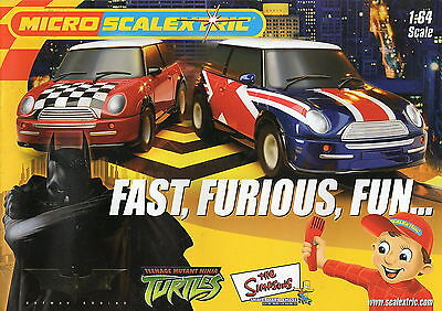 Micro Scalextric Booklet