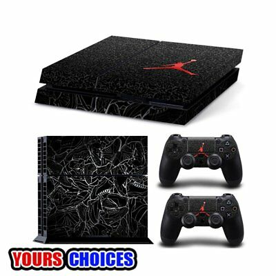 New PlayStation4 PS4 Console + 2 Controllers Vinyl Skin Sticker Decal Cover
