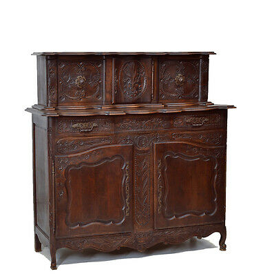 5509006 : Antique French Country Sideboard Cabinet Cupboard
