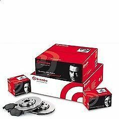 Super Kit Dischi+Pattini Freno Ant E Post Brembo Audi A3(8V1)2.0Tdi 100Kw 136Cv