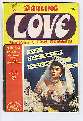 Darling Love #1 Bell Features Pub CANADIAN EDITION
