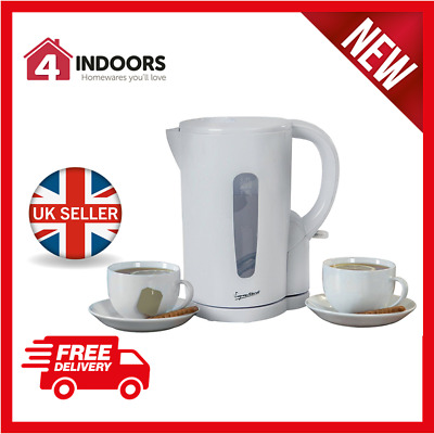 Signature S101 1.7L White Electric Cordless Jug Kettle - Brand New