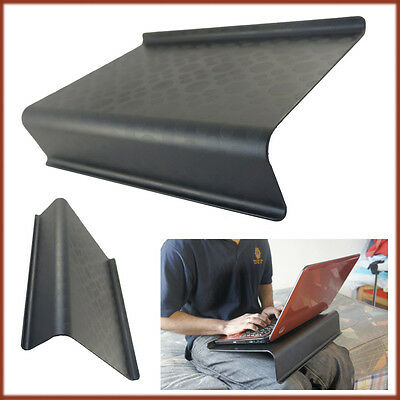 Laptop Holder Table Support Black Slant Tray Bed Sofa Lap Good Ventilation NEW