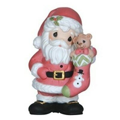 "Precious Moments ""Filled With Christmas Joy"" 4th Annual Santa Figurine FREE SHIP"
